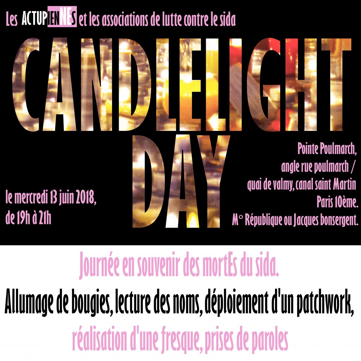 CANDLELIGHT DAY 2018