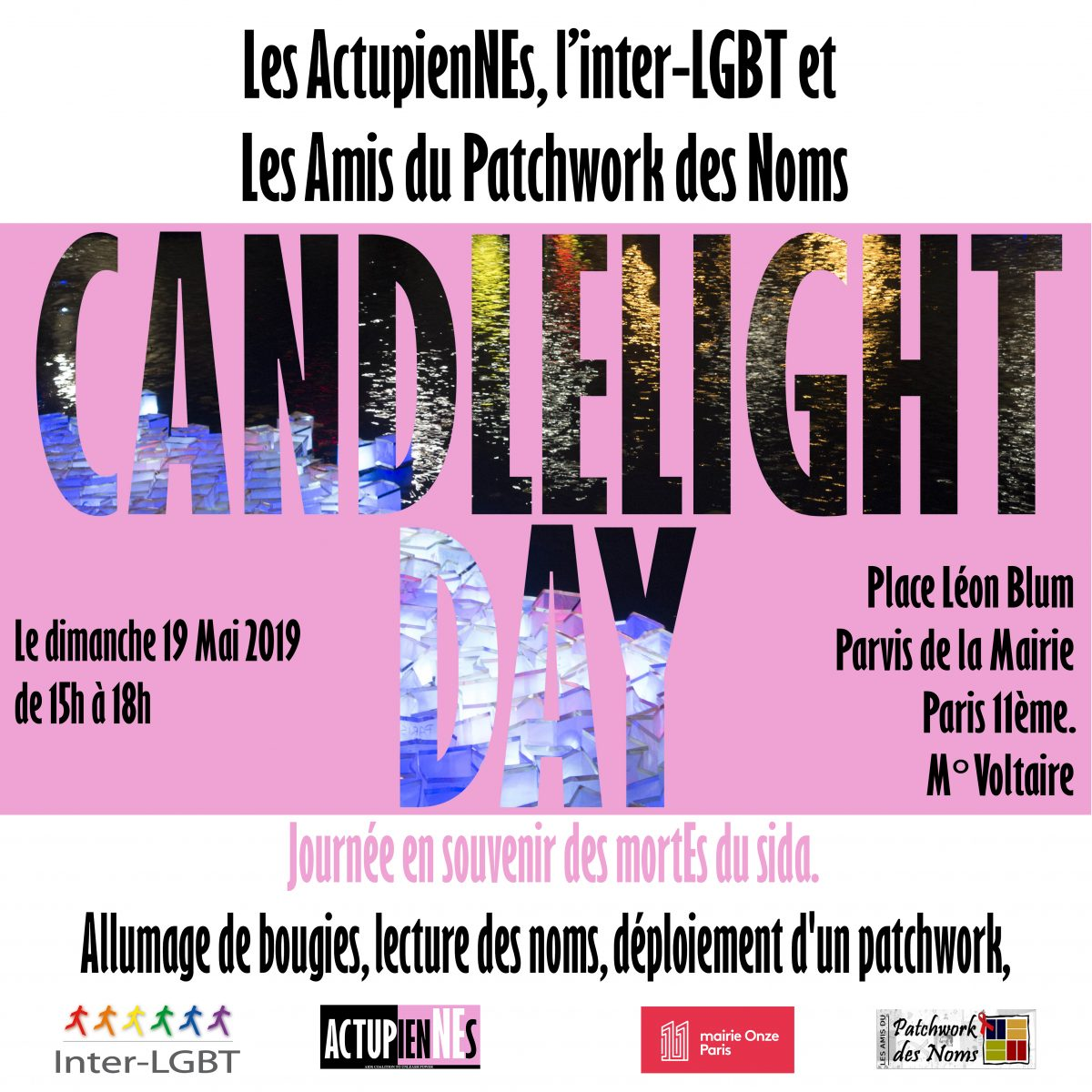 CANDLELIGHT DAY 2019